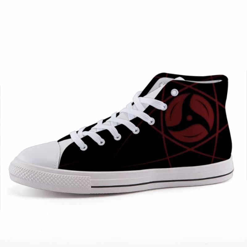 Naruto Sharingan Japan Anime Design Sneaker Shoes