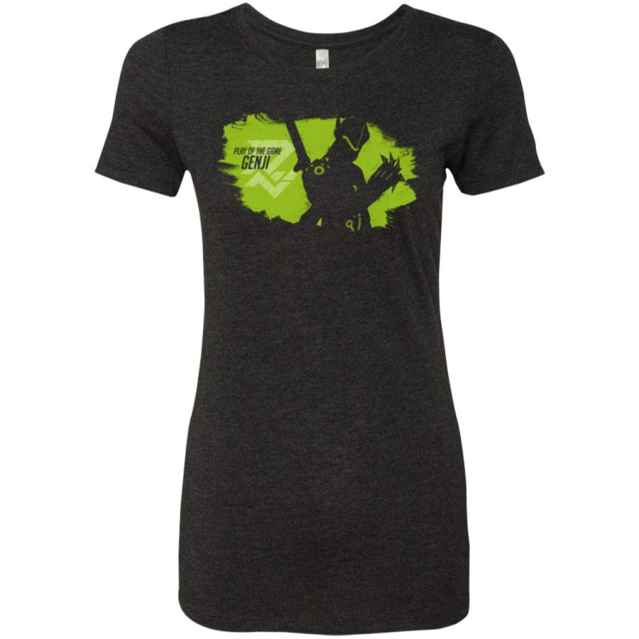 Play of the Game Genji Women's Triblend T-Shirt