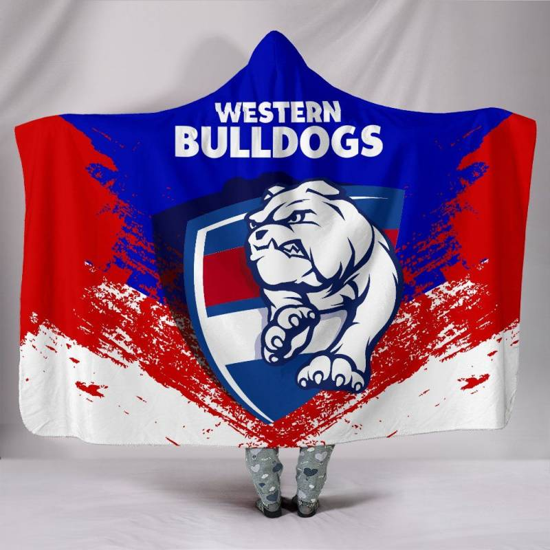 Western Bulldogs Special Hooded Blanket A7
