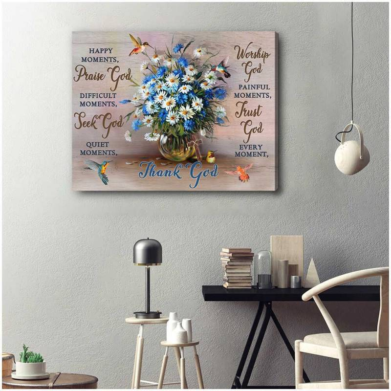 Every Moment Hummingbird  Poster Canvas 5632203077