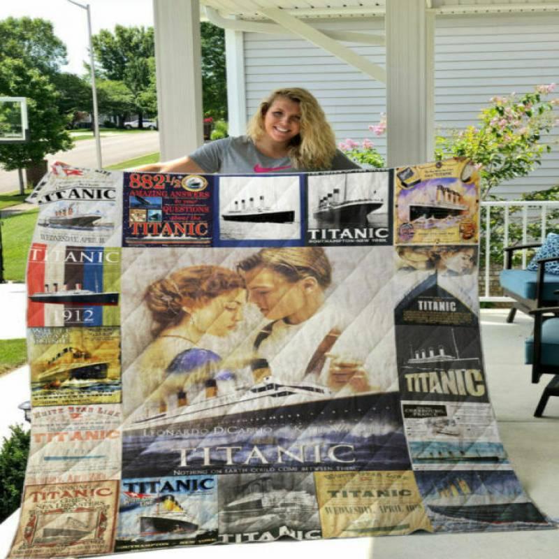 homesweetqult – Titanic T-Shirt 2 sherpa blanket, 50×60, 60×80 hsb31362