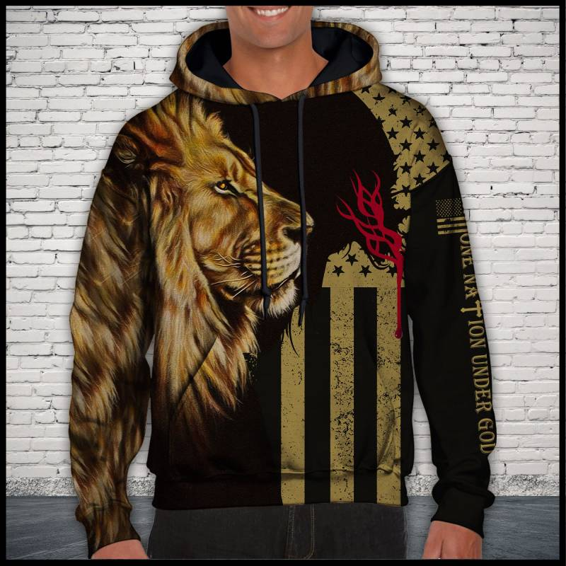 Lion Nation T1509 - All Over Print Unisex Hoodie
