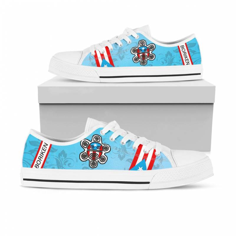 Ligerking™ Puerto Rico Low Top Shoes 02546