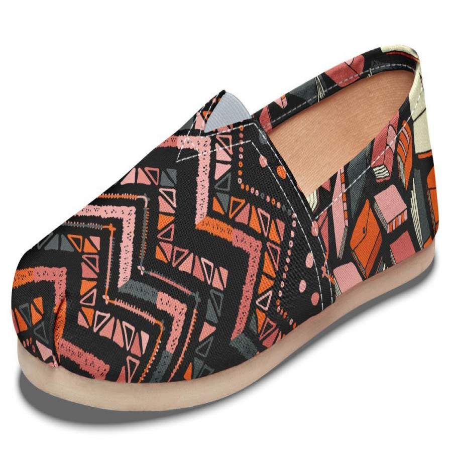 Abstract Books Casual Shoes