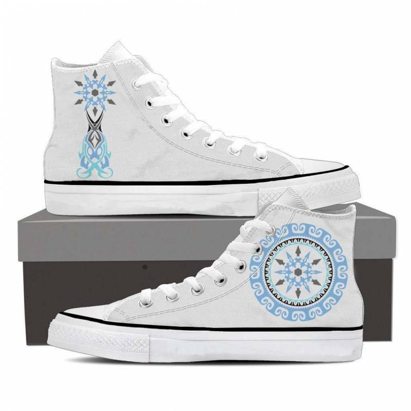 RWBY Weiss Schnee Symbol High Top Shoes