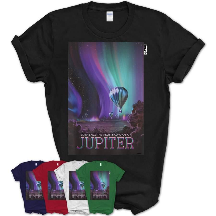 Nasa Jupiter T-Shirt Space Travel Poster
