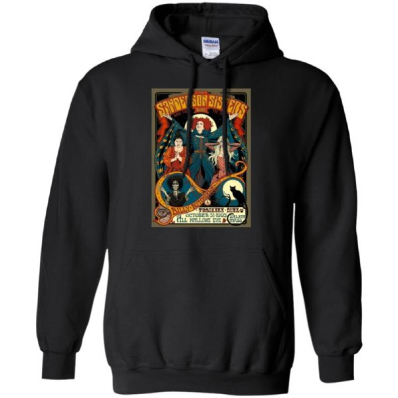 Sanderson Sisters Tour Poster Shirt Hoodie