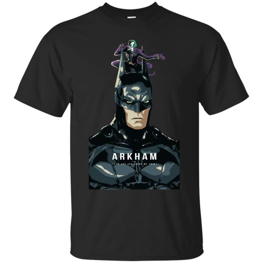 BATMAN - Arkhamman poster T Shirt & Hoodie