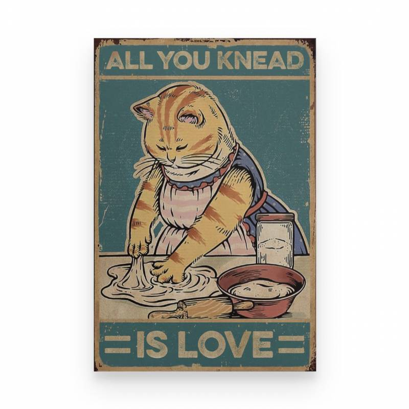 Baking All You Knead Is Love - Poster