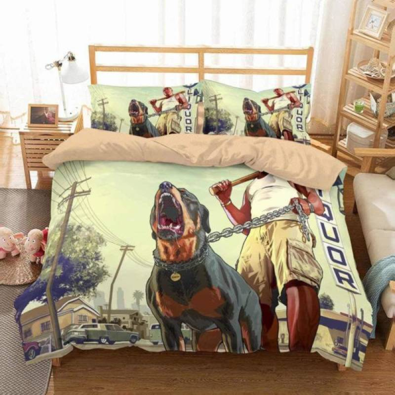 Grand Theft Auto V #3 Duvet Cover Bedding Set