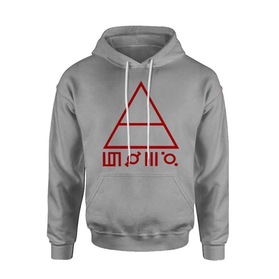 30 Second To Mars Logo Hoodie