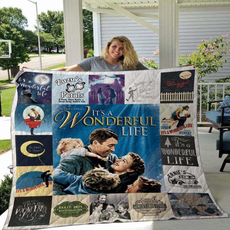 It a Wonderful Life Poster Quilt Ver 2 DHC22115800TD