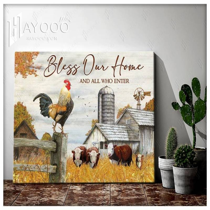 Farm bless our home poster poster 3332203079