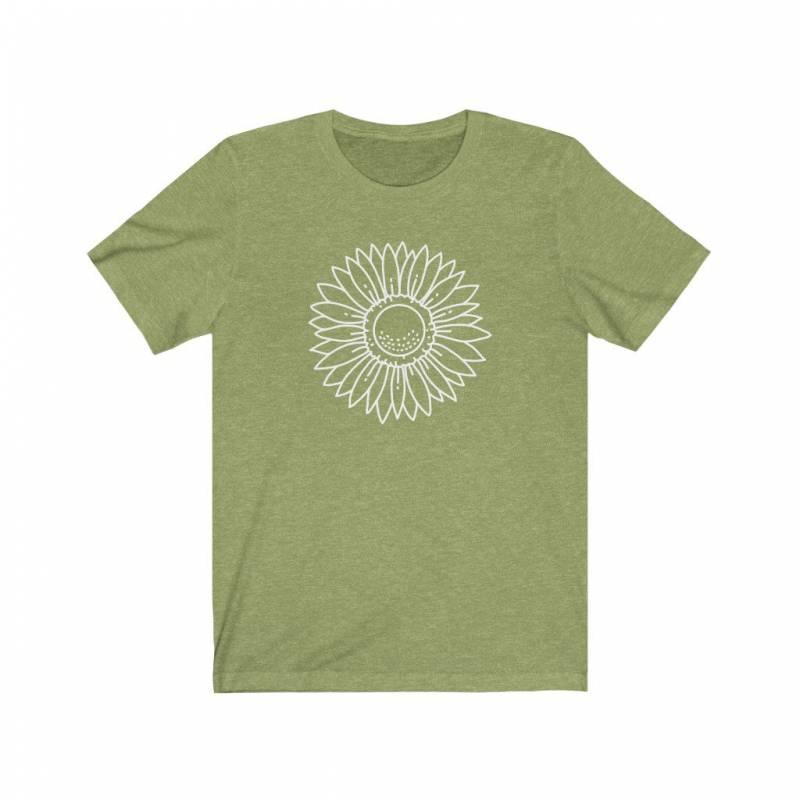 Sunflower Shirt, Womens Tshirts, Cute Shirts for Women, Plant Shirt, Gardening Shirt, Wildflower Shirt, Plant Mama Shirt, Herbalist Shirt