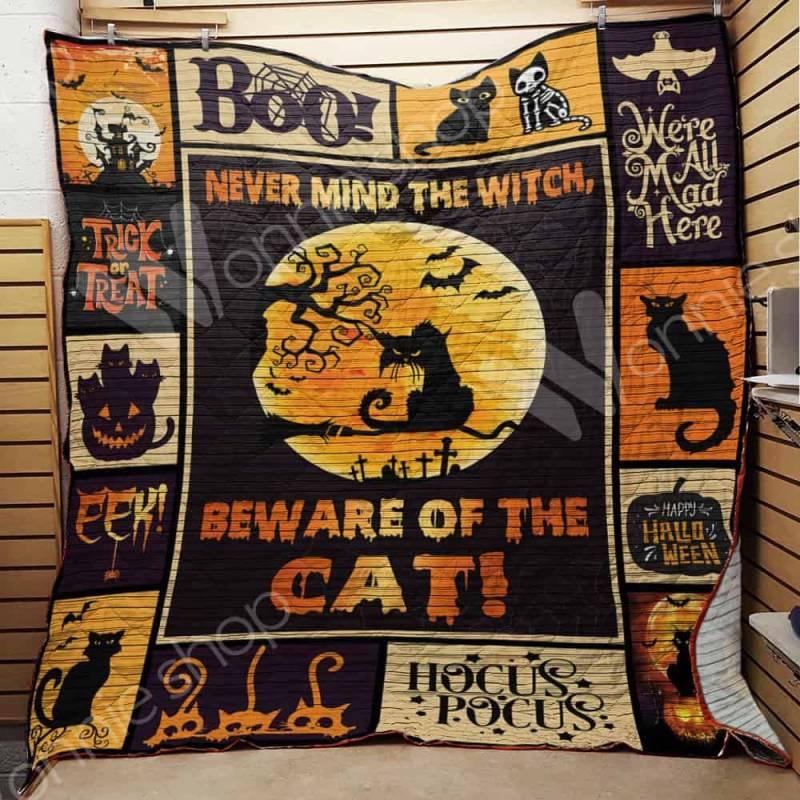 Cat Witch Halloween Blanket AU1502 97O47