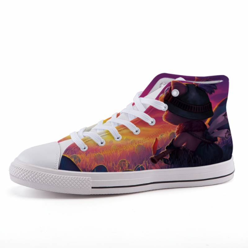 League of Legends LOL Teemo Game Design Sneaker Shoes
