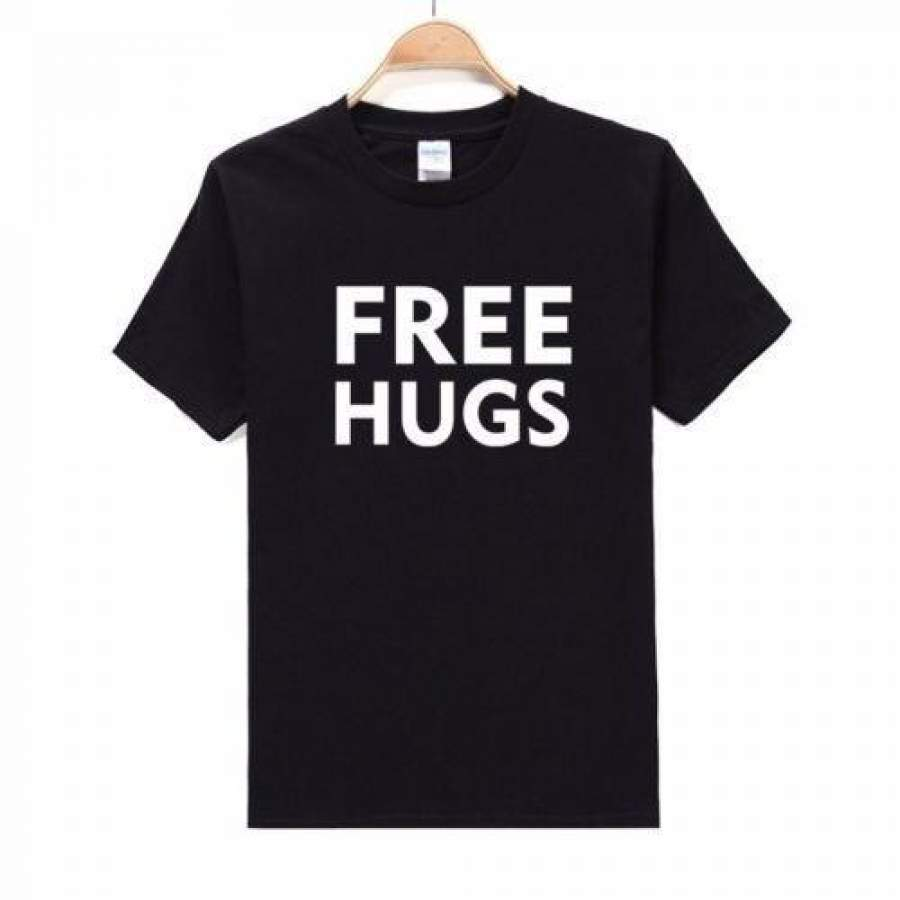 'Free Hugs' Words Men's T-Shirt