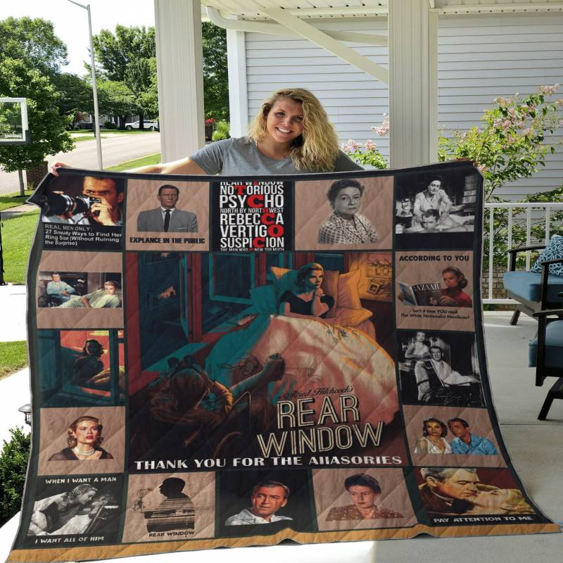 Rear Window Poster Quilt DHC1911111DD