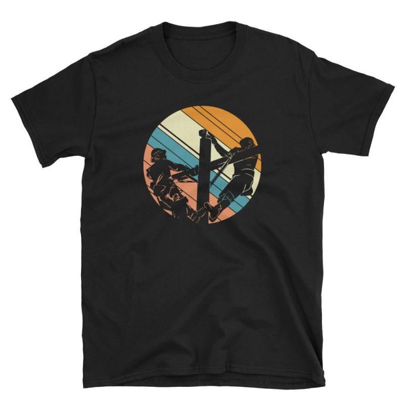 Vintage Style Lineman T-Shirt - Power Lineman Gift