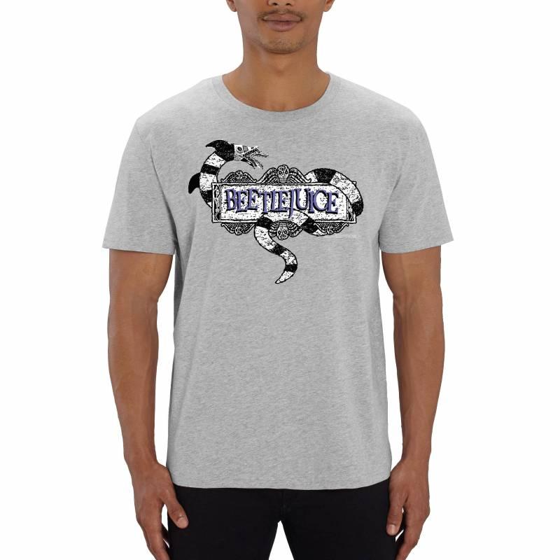 Beetlejuice Sandworm Logo Men's T-Shirt