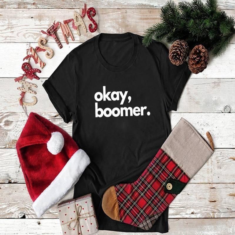 Okay, boomer millennial meme T-Shirt Unisex Heavy Cotton Tee