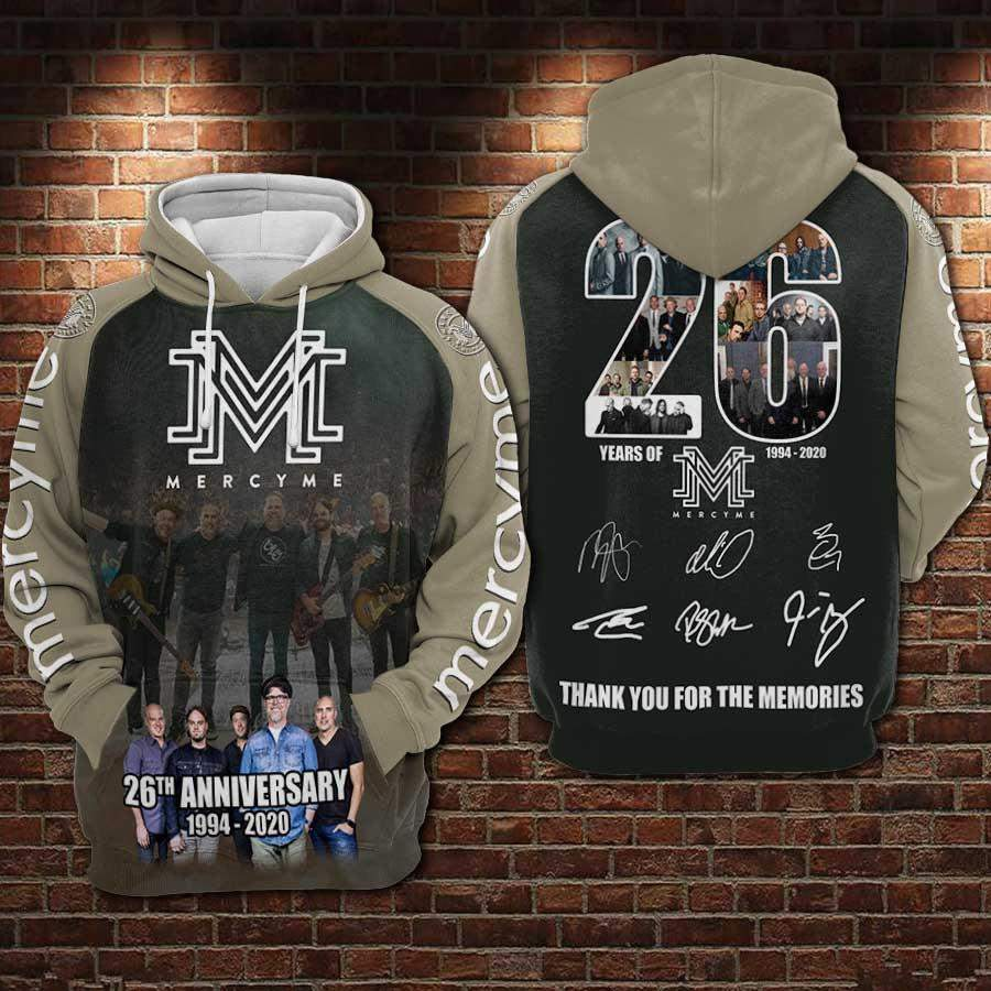 Mercyme 26Th Anniversary Men/Women All-Over Print 3D Hoodie