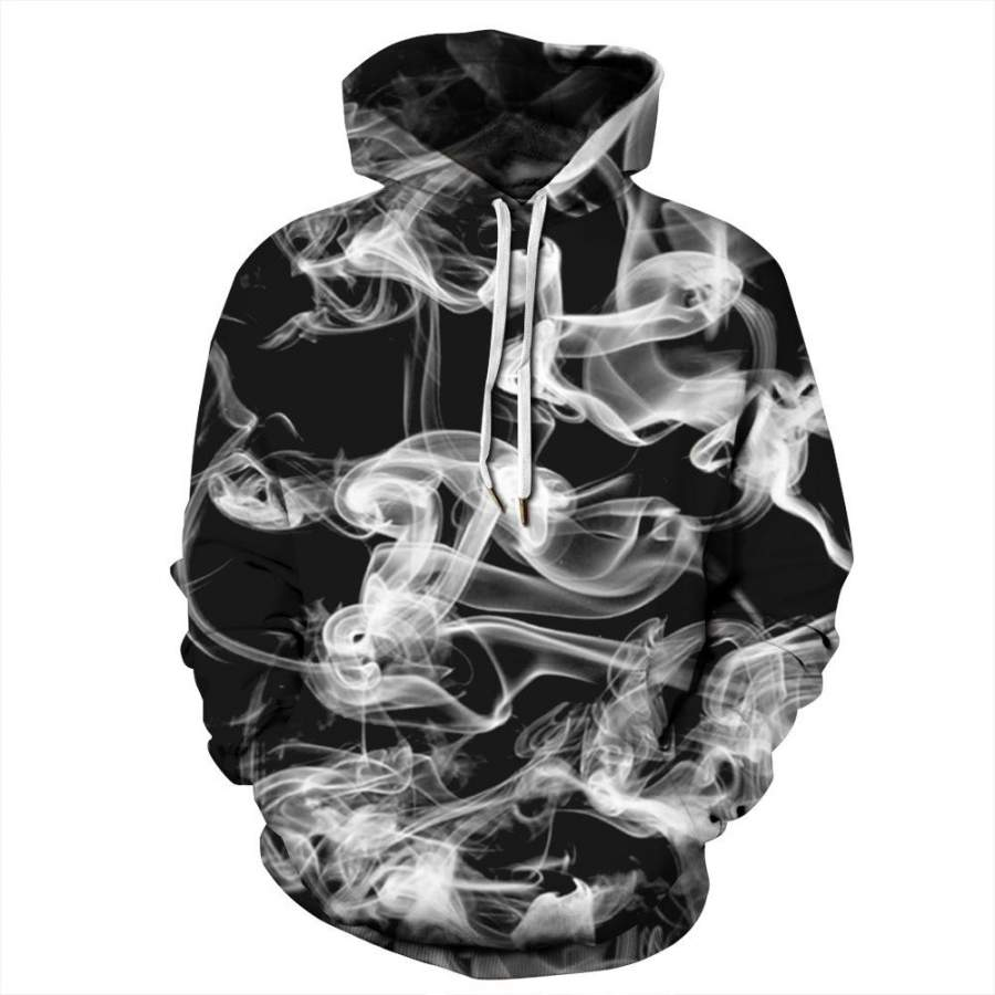 Abstract Smoke 3D Hoodie Unisex Sweatshirt