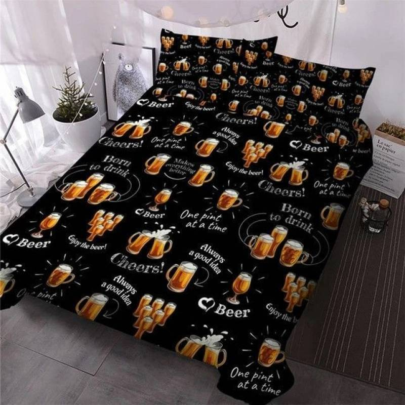 Beer Mugs CLH1510020B Bedding Sets