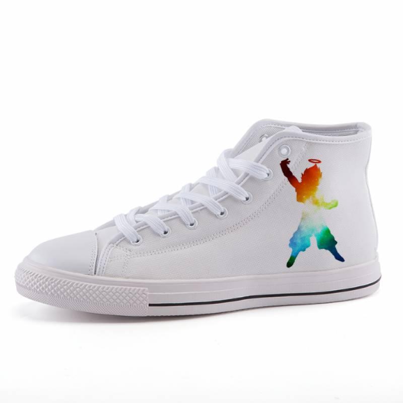 Dragon Ball Gotenks Rainbow Dope Art Sneaker Shoes