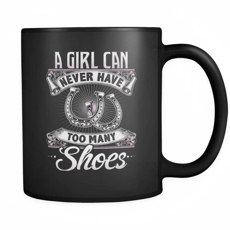 Too Many Shoes - Luxury Horse Mug