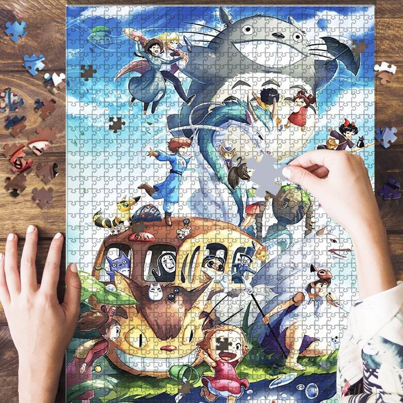 The Artsyhomes [Jigsaw Puzzles]  Ghibli Lover Jigsaw Puzzle 23052020