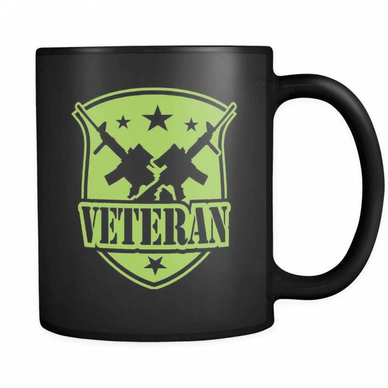 100% Veteran - Luxury Mug