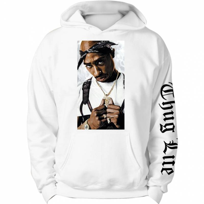 2 Pac Tupac Shakur Thug life Music Sweatshirt hoodie