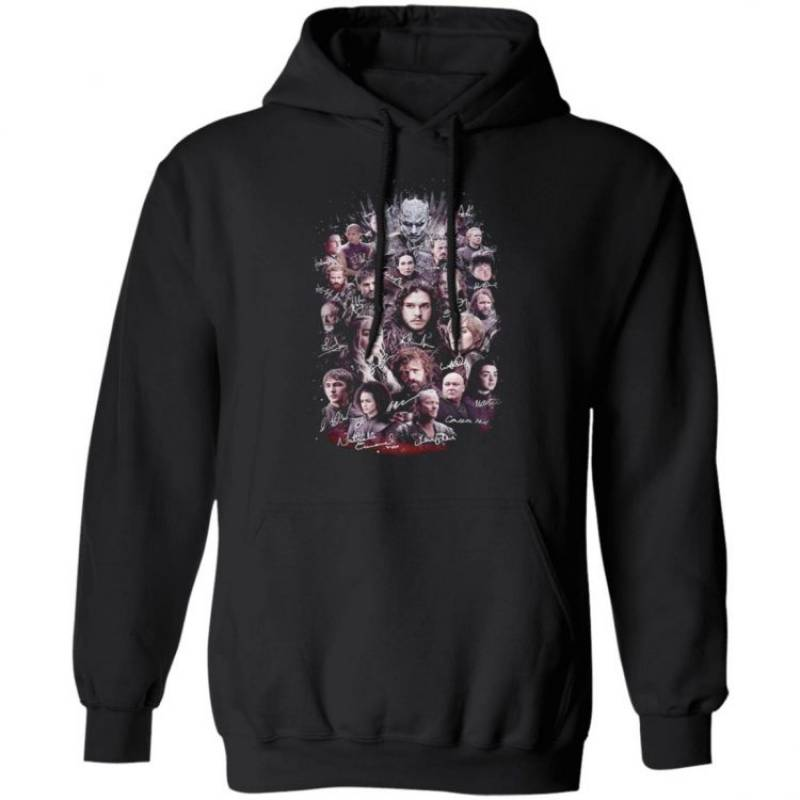 Game of Thrones signature poster Hoodie