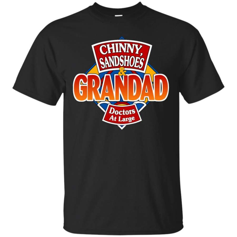 DOCTOR WHO - Chinny Sandshoes  Grandad T Shirt & Hoodie