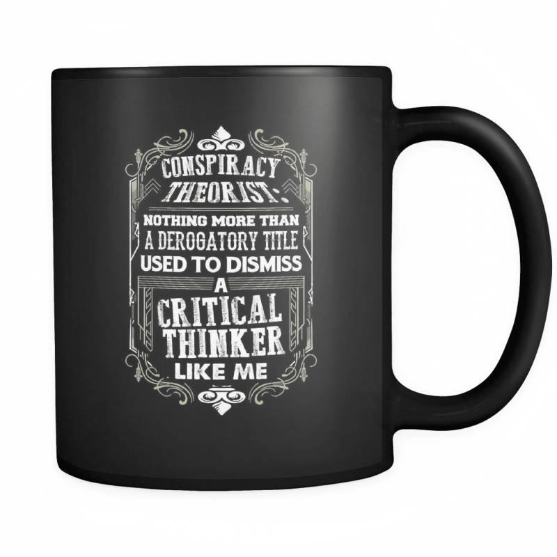 A Critical Thinker Like Me - Luxury Truth Seeker Mug