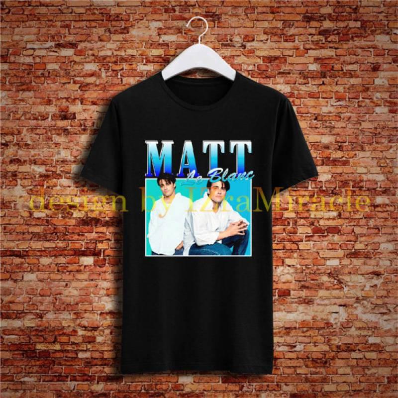 Matt Le Blanc  Hip Hop Rapper 90s Retro Vintage T Shirt New Casual Black Men Women T-Shirt IM-85