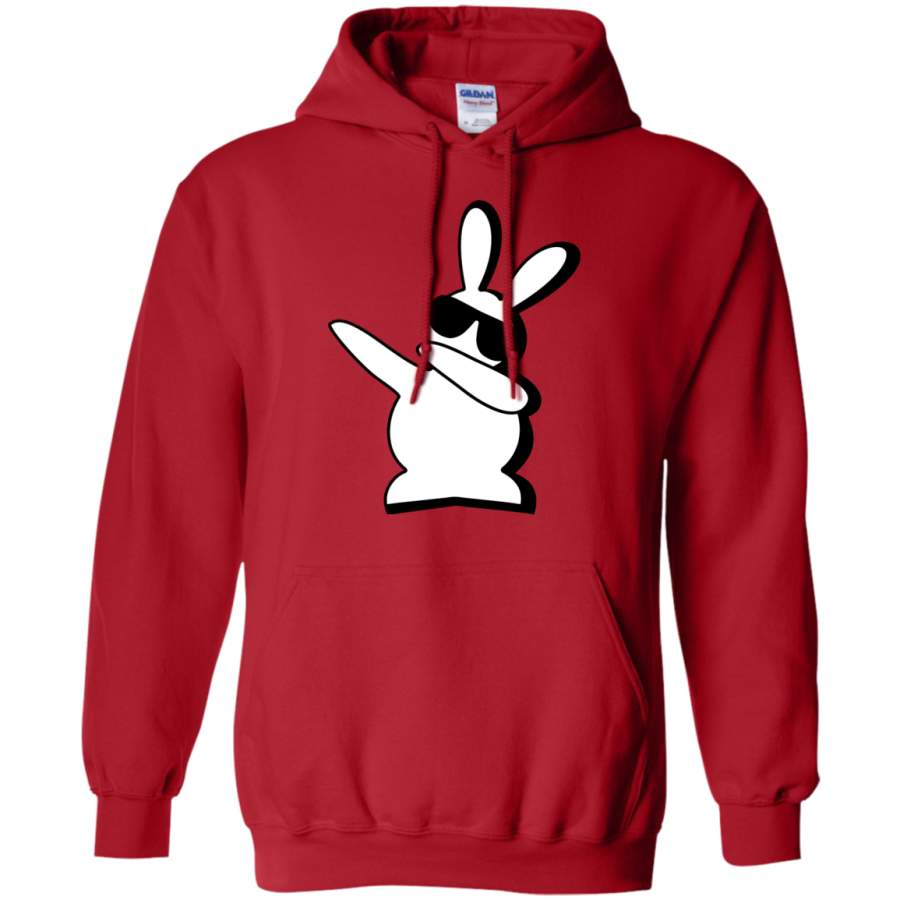 Dabbing Hip Hop Bunny Easter - Dab Pullover Hoodie - Teeever.com