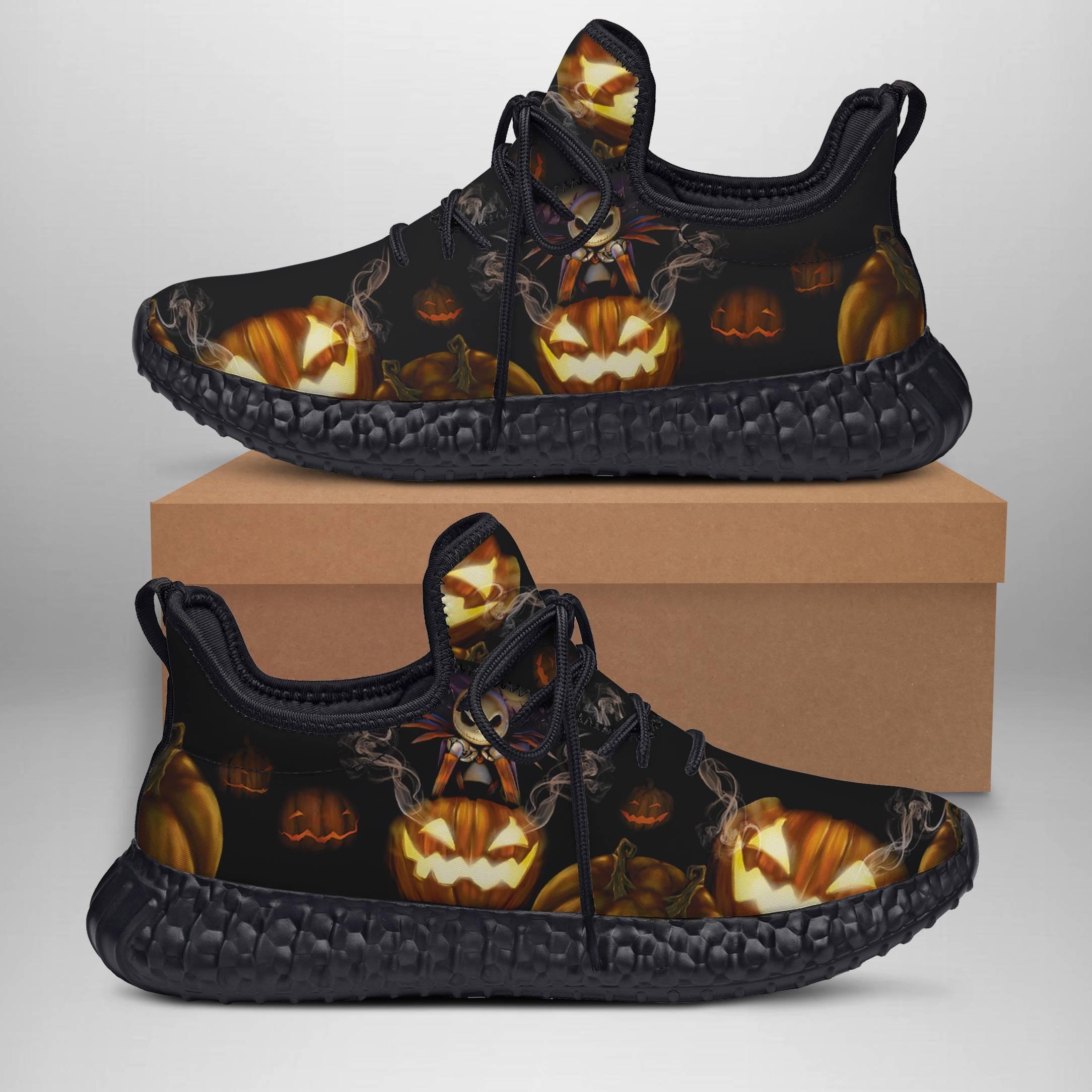 JACK SKELLINGTON  Yeezy Sneakers Shoes For Men, Women, Runing Yeezy Sneakers Shoes. Custom Yeezy Sneakers Shoes SNEAKERS