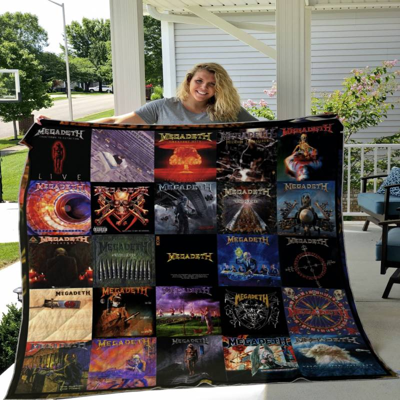 Megadeth Albums Cover Poster Quilt Ver 2 DHC22115452TD
