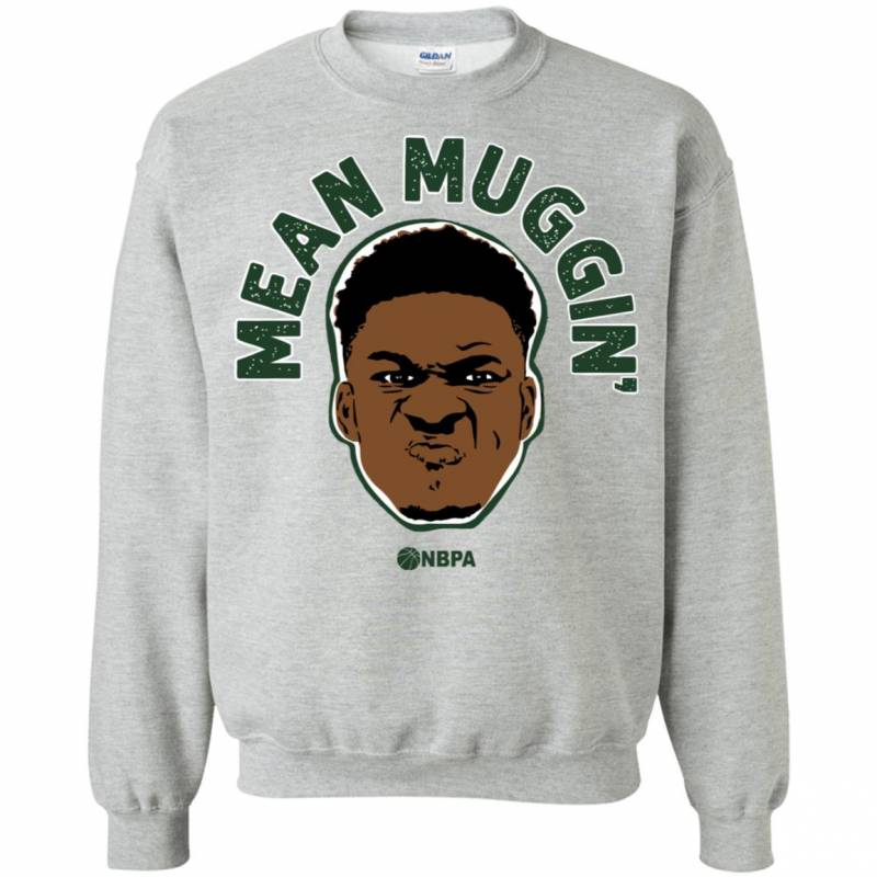 Giannis Antetokounmpo Milwaukee Bucks Giannis Mean Mug Sweatshirt