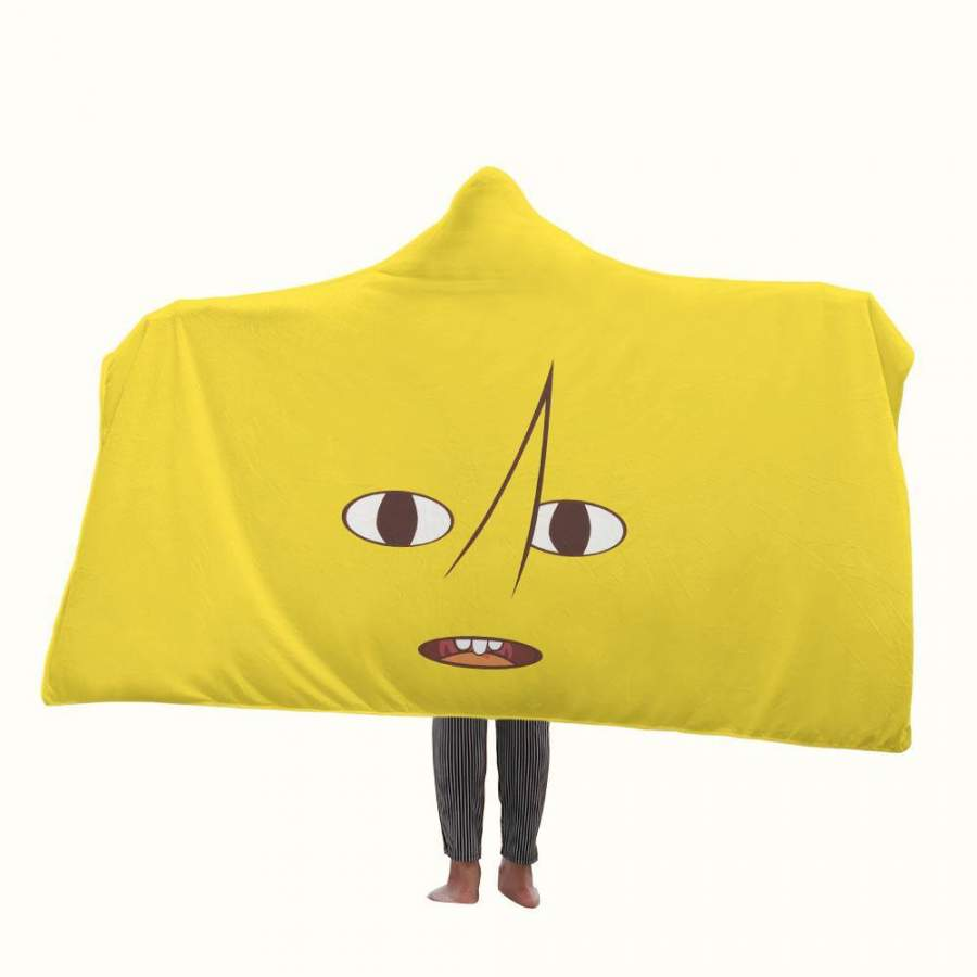 Adventure Time Earl of Lemongrab Hooded Blanket