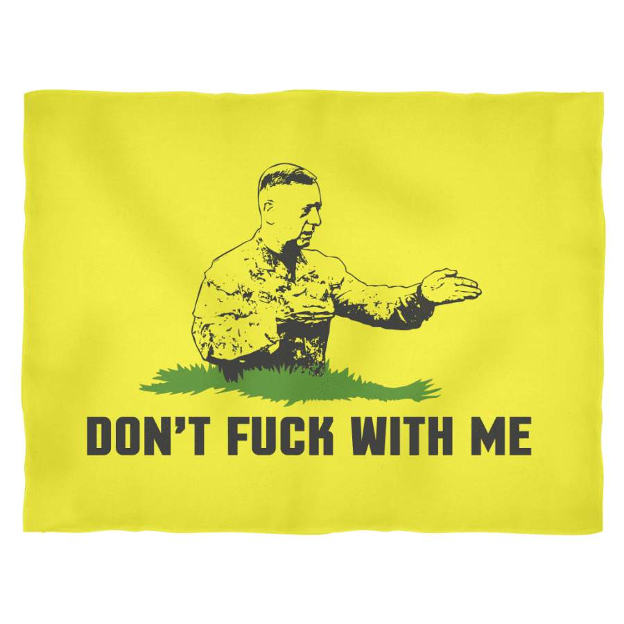 Don't F** With Me Fleece Blanket
