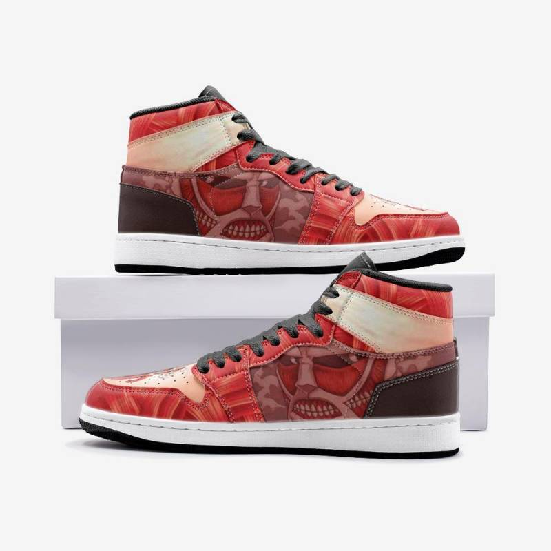 Colossal Titan Attack on Titan Custom J-Force™ Shoes