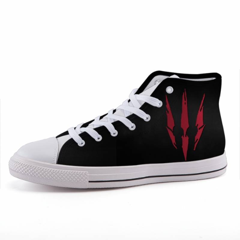 The Witcher 3 Wild Hunt Symbol Game Simple Sneaker Shoes