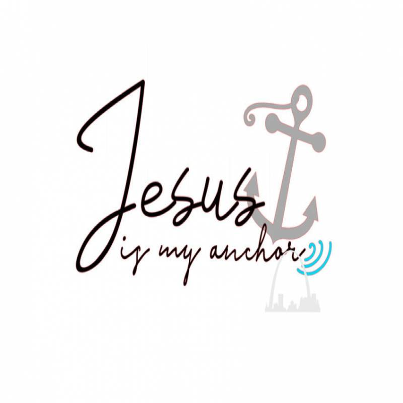 Jesus is my anchor svg jpeg cut file boating sailing svg Faith in God  t-shirts decals coffee mugs diy Christian faith svg Silhouette cricut