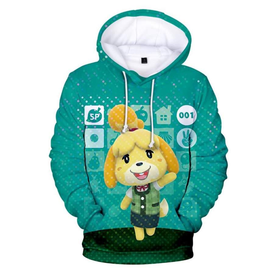 Animal Crossing Isabelle Hoodie