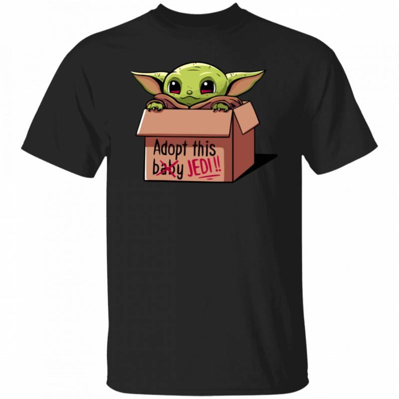 Baby Yoda Adopt This Jedi shirt