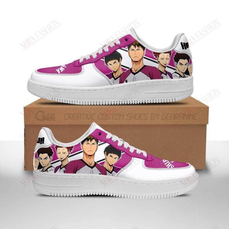 Haikyuu Shiratorizawa Academy Air Sneakers Team Haikyuu Anime Shoes