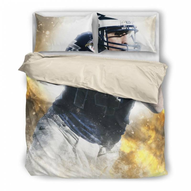 Football Duvet and Pillow Covers Bedding Set – Muggalicious